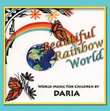 Multicultural Music CD - Beautiful Rainbow World by DARIA