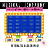 Music from Other Cultures Jeopardy: Game Show with Scorebo
