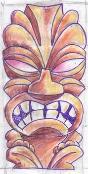 Multicultural Polynesian Tiki