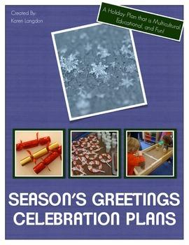 Christmas/Season's Greetings Celebration - Activities & Printables