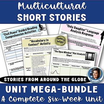 Multicultural Short Story Bundle: Unit Map, Activities, Projects, & Assessments