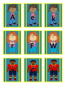 Multicultural Student ABC Cards