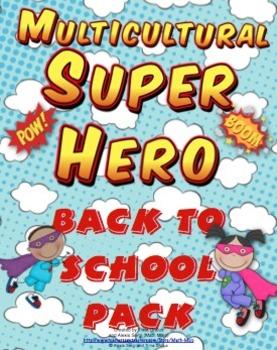 Back to School - Multicultural Super Hero