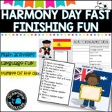 Harmony Day Fun Activities