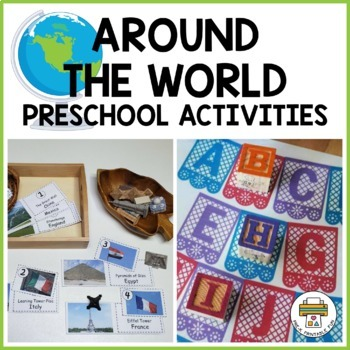 Multicultural activity pack for Pre-K, Preschool and Tots