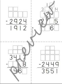 Multidigit Addition and Subtraction Puzzles