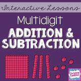 Multidigit Addition and Subtraction Math Unit