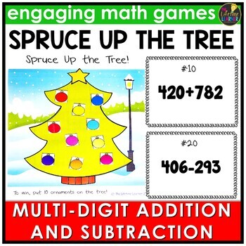 Multi-Digit Addition and Subtraction Game