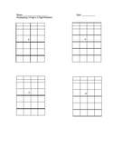 Multidigit Multiplication Organizers