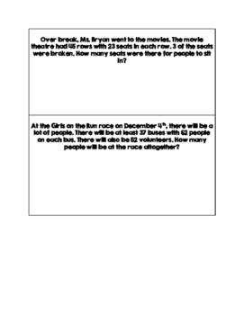 Multidigit Multiplication Review