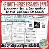 Multi Genre Research Paper Project