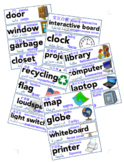 Multilingual ESL Classroom Supply Labels English Chinese A