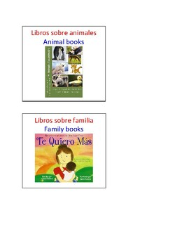 Multilingual (English, Chinese, Spanish) Reading Area Labels