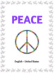 Multilingual Peace Posters with Research and Writing Ideas