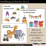 Multilingual Stories: Set 2. Bilingual stories w/ translations in multiple langs