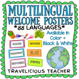 Multilingual Welcome Posters