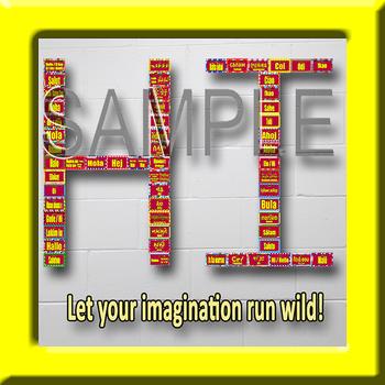 Multilingual Word Wall Sampler – Bundle: Hello, Welcome, & Goodbye