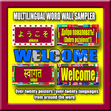 Multilingual Word Wall Sampler – Welcome