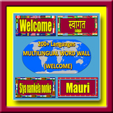 Multilingual Word Wall - WELCOME