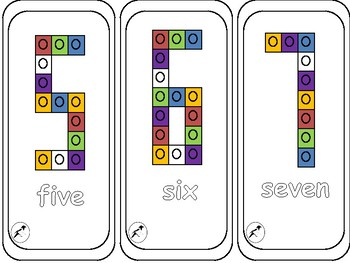 Multilink Numeral Flashcards 0-10