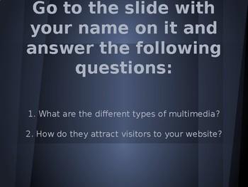Multimedia Lesson Essential Questions