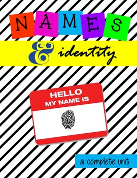 Multimedia Unit:  The Power of Names Creating Identity for K to AP