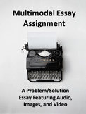 Multimodal Essay Writing Prompt-Students Include Video and Images in Essay