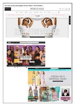 Multimodal Website / Formal Dresses