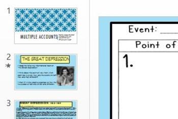 Multiple Accounts- Nonfiction- Compare/Contrast