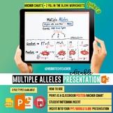 Multiple Allele Editable Presentation/Anchor Chart/Fill-in
