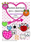 Multiple Attribute Sort by Similarities: Hearts and Monsters