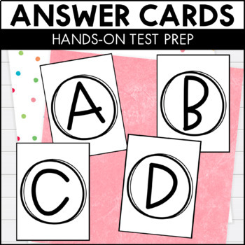 Multiple Choice Answer Cards