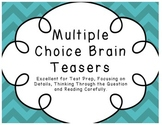Multiple Choice Brain Teasers