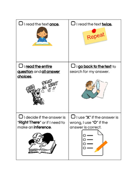 Multiple-Choice Checklist & Booklet