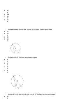 Short Answer Circle Quiz