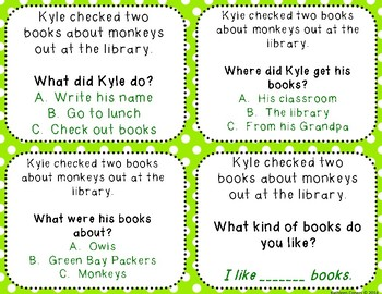 Multiple Choice Comprehension Questions for One Sentence Stories - CC Aligned