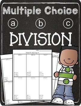 Multiple Choice Division 3 digit x 1 digit