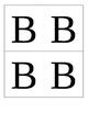Multiple Choice Hold Up Cards A-B-C-D