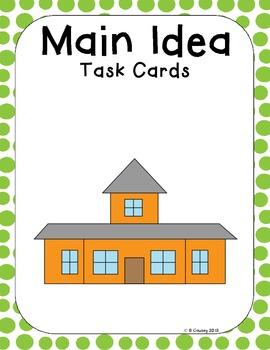 Main Idea Task Cards (Set 2)