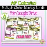 Multiple Choice Monday Digital AP Calculus Bundle