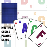 Multiple Choice Playing Cards