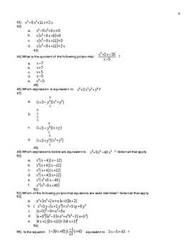 Polynomial Test