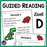 Free Guided Reading Level D Reading Comprehension Passages and Questions {RtI}