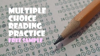Multiple Choice Reading Practice Series (Free Sample)