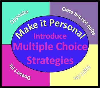 Multiple Choice Strategies Activity