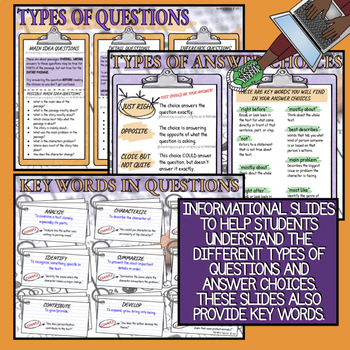 Multiple-Choice Test Prep: Digital Interactive Notebook
