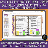 Multiple-Choice Test Prep: Digital Interactive Notebook