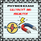 Multiple Choice Test in Physics - Electricity and Magnetism