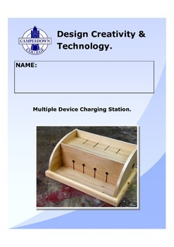 Multiple Device Charging Station Folio
