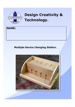 Multiple Device Charging Station Folio
